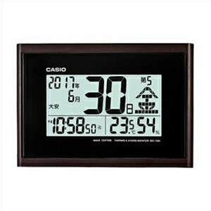 CASIO カシオ クロック IDC-120J-5JF 電波時計 掛置兼用 日めくり カレンダー