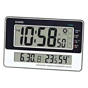 CASIO カシオ クロック IDL-170J-7JF 置き掛け兼用 電波時計
