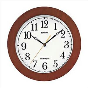 CASIO カシオ クロック IQ-1107J-5JF 電波 掛時計