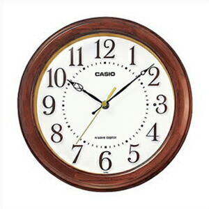 CASIO カシオ クロック IQ-880J-5JF 電波時計 掛置兼用