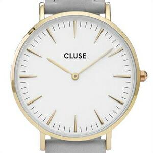 クルース 腕時計 CLUSE 時計 並行輸入品 CL18414 レディース La Boheme Gold White Grey ラ・ボエーム ゴールド ホワイト グレー
