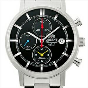 ORIENT オリエント 正規品 腕時計 WV0061TY メンズ STYLISH AND SMART スタイリッシュ&スマート クロノグラフ