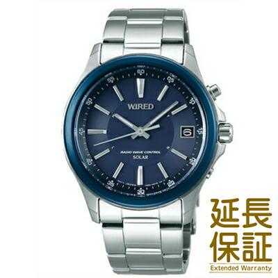 WIRED ワイアード 腕時計 AGAY013 メンズ ソーラー電波修正