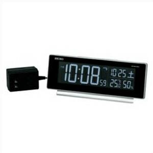 SEIKO セイコー クロック DL207S 目覚まし時計 置時計 電波時計 インテリア