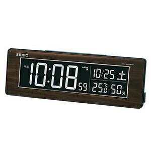 SEIKO セイコー クロック DL210B 置時計 デジタル時計 電波