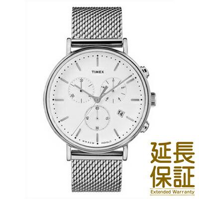 TIMEX タイメックス 腕時計 TW2R27100 ユニセックス Weekender ウィークエンダー Fairfield フェアフィールド クロノシルバーメッシュ