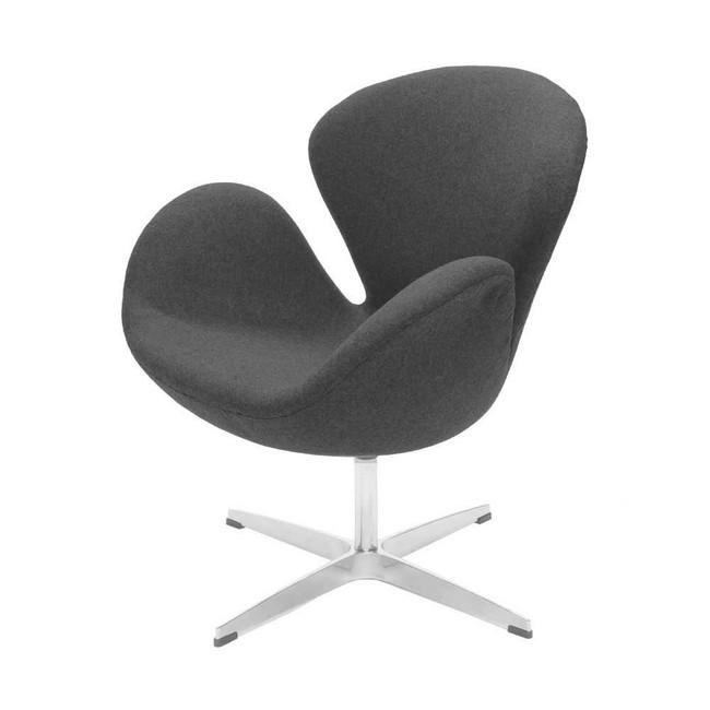 雅各布森天鹅椅灰色