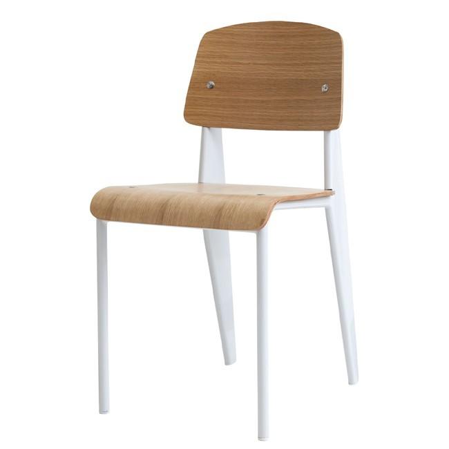 Chaoscollection Rakuten Global Market Jean Prouve Standard Chair White