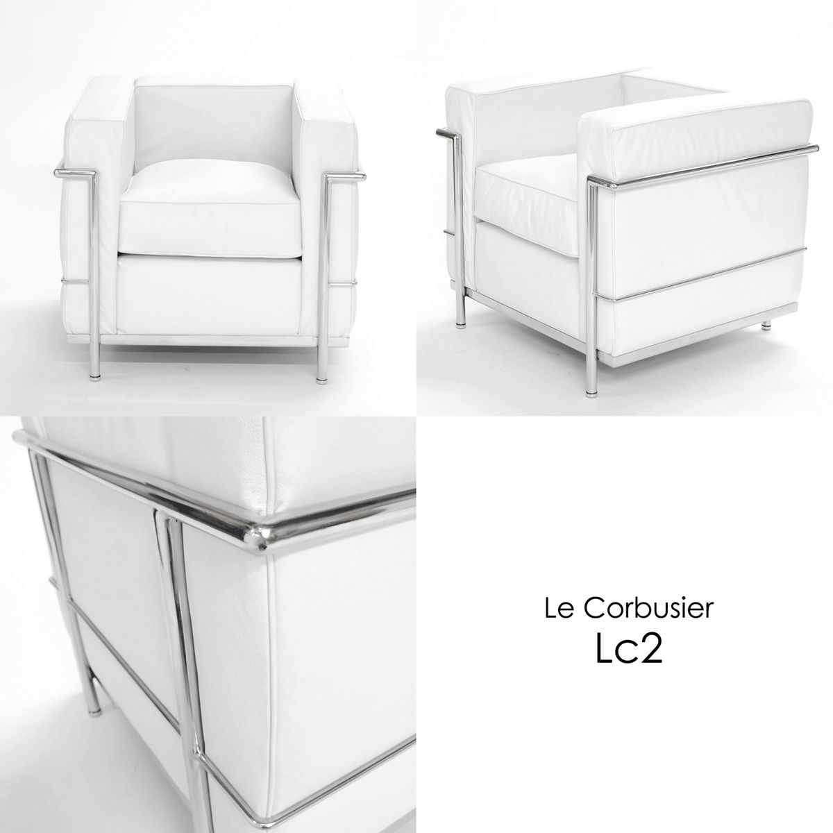 Chaoscollection rakuten global market lc2 grand for Le corbusier lc2