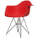 アームシェルチェア shell Chair Dining chairs Eames DAR PP Red