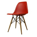 Eames DSW gloss without red shell Chair Eames Chair