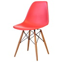 Eames DSW PP polypropylene red shell chair dining chair