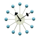 George Nelson ball clock blue