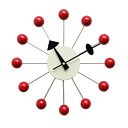 George Nelson ball clock Red