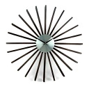 George Nelson flutter wall clock