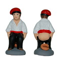 "The genuine article of the Spanish Catalonia district! ○""The Kaga flannel (Caganer) doll"" which does ○○"