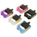 "wellgo ""F178-CL' F178 folding pedals / clear [125-00003]"