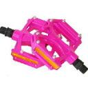 "wellgo ""M195R_P"" M195R aluminum flat pedal pink [125-00012]"