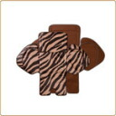 Panasonic NCD367K front child seat cover for the gut and Zebra Brown X Brown [NCD367K]