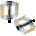 GIZA PRODUCTS ( ghisaproducts ) PDL10201 B152 pedals clear color clear [PDL10201]