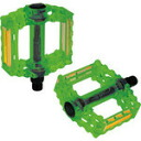 PRODUCTS of GIZA (Giza products) PDL10203 B152 pedals clear color green [PDL10203]
