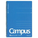 Campus ring notebook 6 (40 pieces of ruled line blue -T205AN-B usually horizontal semi-B5))