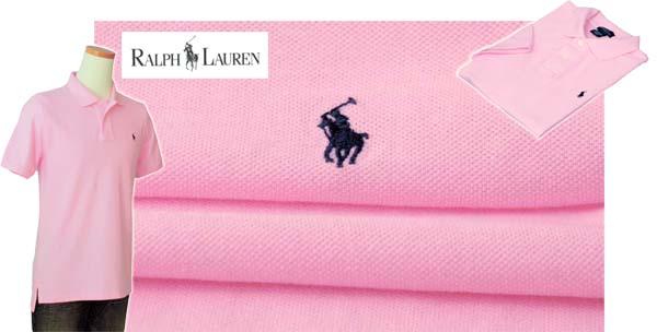 ラルフローレン カノコポロシャツ ピンク