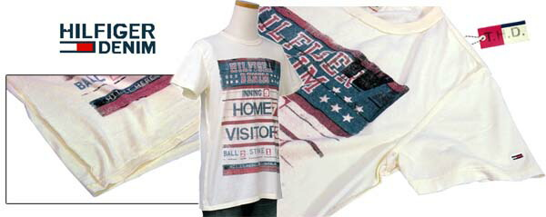 トミーヒルフィガー プリント半袖Tシャツ