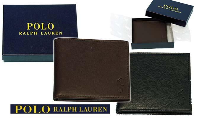 ラルフローレン 二つ折財布