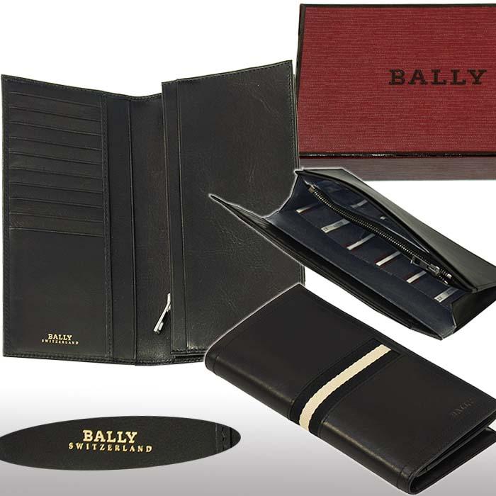 【BALLY】バリー TALIRO レザー ウォレット ブラック