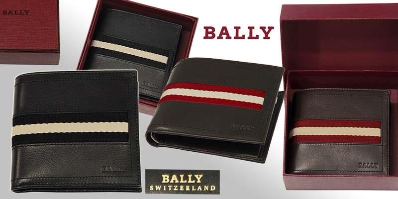 【BALLY】バリー TYE 2つ折り財布