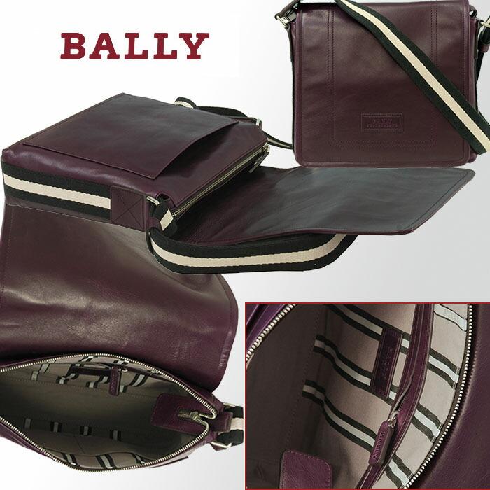 【BALLY】バリーTerlago,ショルダーバッグ チョコレート