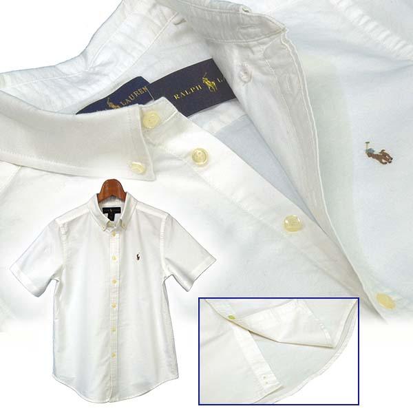 半袖 オックスフォードシャツ