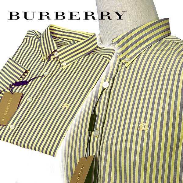 BURBERRYバーバリー ストライプト・コットンシャツ