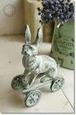 Rabbit cart (GZ-72) / antique miscellaneous goods interior ornament COVENTGARDEN (Covent Garden)