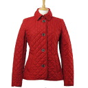 BURBERRY / Burberry Womens Quilted Jacket COPFORD 3701834 60800 MILITARY RED BURBERRY