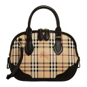 BURBERRY / Burberry women's handbags Haymarket check classic check, Brown SM ORCHARD HYM 3856900 2070T CHOCOLATE BURBERRY ばーばり.
