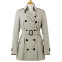 BURBERRY / Burberry coat ladies trench coat trench MOTTRAM 3762002 25000 TRENCH BURBERRY ばーばり.