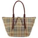 BURBERRY / Burberry ladies tote bag Haymarket check / dark red SM SALISBURY MCO 3882556 6073T BLOOD RED BURBERRY ばーばり.