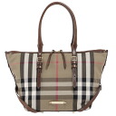 BURBERRY / Burberry ladies tote bag housecheck / ダークタン SM SALISBURY BHK 3882055 2001T DARK TAN BURBERRY ばーばり.