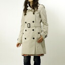 BURBERRY / Burberry women's trench coat コットント trench BUCKINGHAM 3886097 DK 25000 TRENCH BURBERRY BRIT ばーばり.