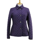 BURBERRY / Burberry jacket Quilted Jacket purple COPFORD 3888511 QJA 50480 REGENCY PURPLE BURBERRY BRIT Burberry