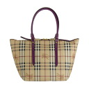 3903232 BURBERRY/ burberry Lady's tote bag cherry purple SM SALISBURY HTR 5117T CERISE PURPLE
