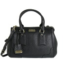 BURBERRY / Burberry bag ladies 2-WAY handbag black SM GLADSTONE 3870767 EGL AAVTY 00100 BLACK