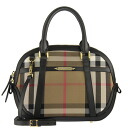 BURBERRY / Burberry bag ladies 2-WAY handbag House checks / black SM ORCHARD 3903898 COCA 0010T BLACK