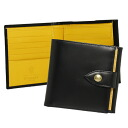 Ettinger 10 C/CARD & COIN PURSE 178JR BLACK fold wallets (purses with) ETTINGER