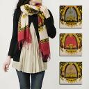 GLEN PRINCE / Prince Glen scarf (emblems) 1518 SW sousou script