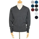 JOHN SMEDLEY / Smedley knitwear mens V neck long sleeve knit CLASSICS EASY FIT PULLOVER VNLS JOHN SMEDLEY daycare I be めどれー