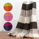 クリッパン KLIPPAN wool blanket throw blanket serape INEZ 2037 [all four colors]