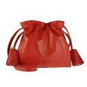 Loewe LOEWE bag Flamenco nappa Orange FLAMENCO 22 shoulder bag 380 82EH39 8200 PAPRIKA